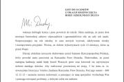 List do uczniów z okazji rozpoczęcia roku szkolnego 2013/2014 od Rzecznika Praw Dziecka