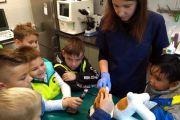 Uczniowie klasy Id z wizytą w Klinice Weterynaryjnej
