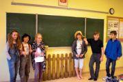 Przygoda z lekturą – teatralna lekcja języka polskiego w klasie V D