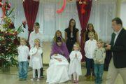 Święty Mikołaj w Domu Dziecka w Krasnymstawie