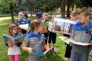 """Ogólnopolska Akcja Masowego Czytania w klasie II A """"Jak nie czytam, jak czytam"""""""
