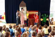 Nasi uczniowie zagrali dla przedszkolaków