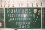 """Eliminacje do konkursu """"Warszawska Syrenka"""""""