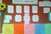 """""""Czas na zdrowie""""- spotkanie z poezją w SP Nadarzyn"""