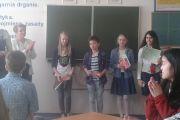 Zmagania matematyczne uczniów SP Nadarzyn