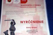 """Koncert Laureatów XXXVI  konkursu Recytatorskiego """"Warszawska Syrenka"""""""