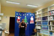 Mikołajkowe spotkanie w szkolnej bibliotece
