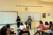 Spotkanie z absolwentkami SP w Nadarzynie