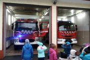 Wizyta w Ochotniczej Straży Pożarnej w Nadarzynie