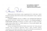 List Rzecznika Praw Dziecka z okazji Międzynarodowego Dnia Dziecka